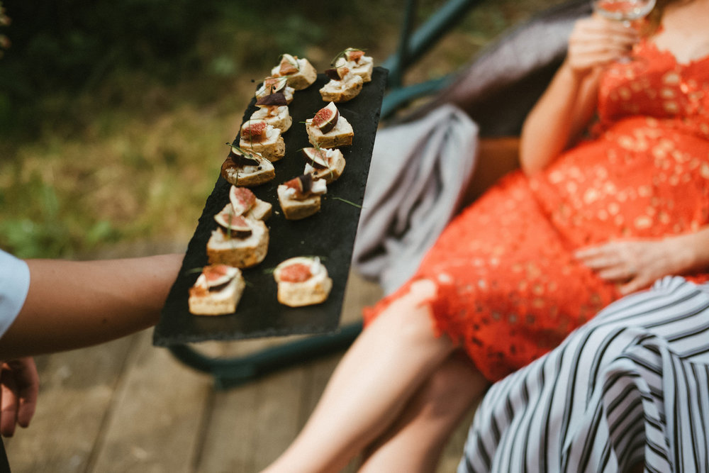 Goats cheese and fig canape- Dorset wedding catering.jpg