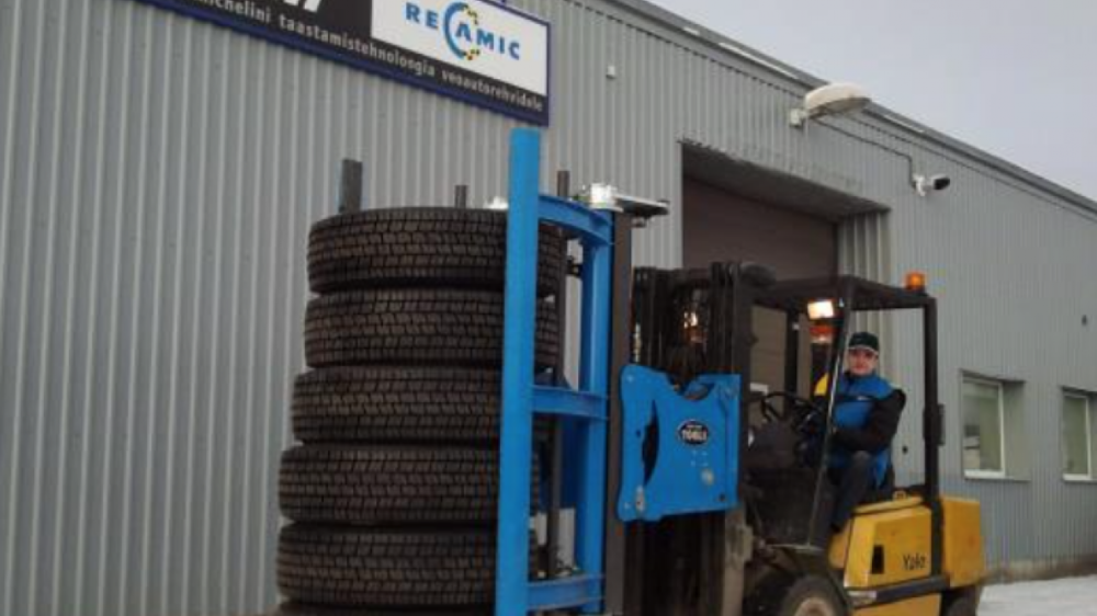 """""""... We are now working faster - and much safer!""""   A year after seeing the Easy Stacker on Reifen 2012 Ants Astover finally took the decision to invest in increased efficiency in their warehouses."""