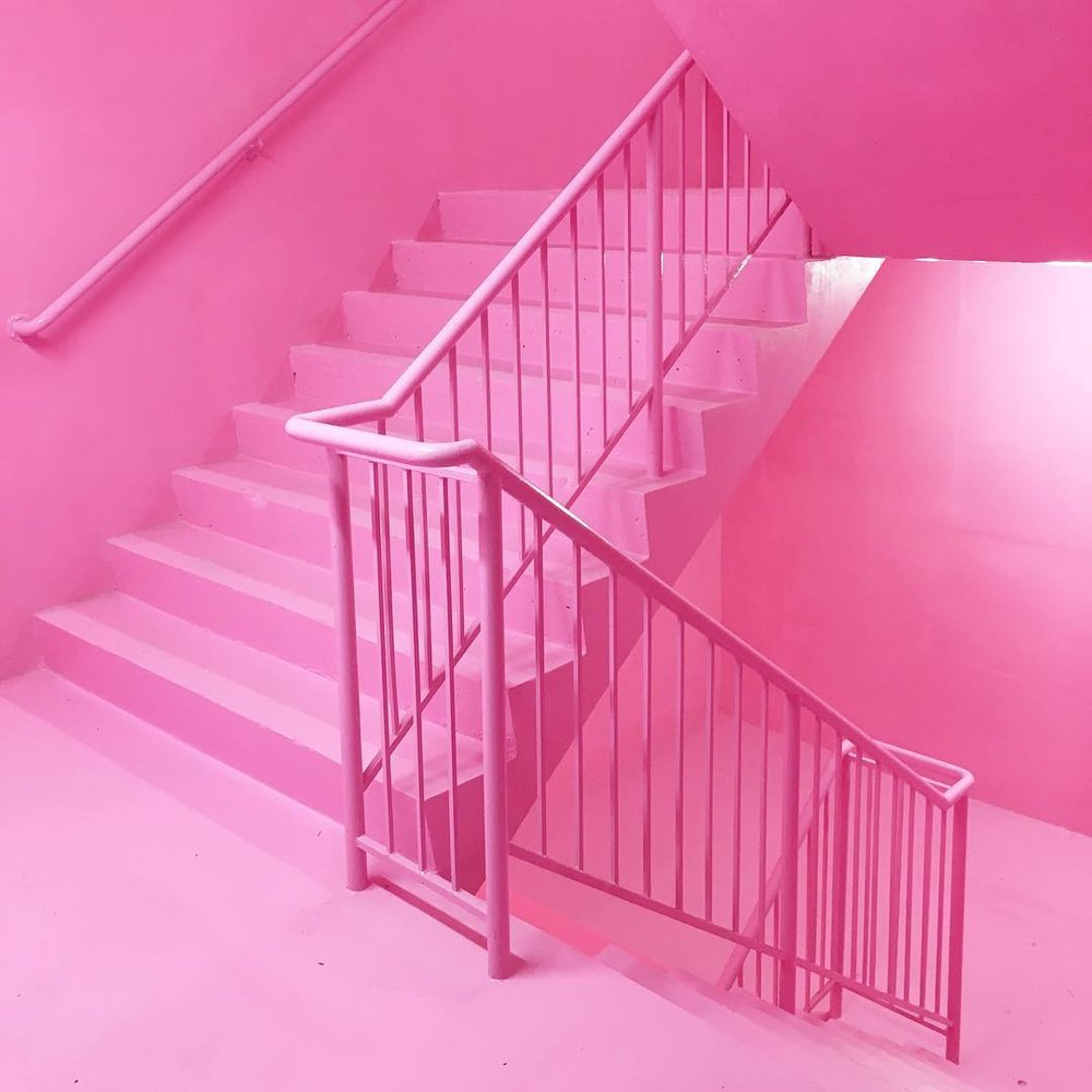 Tickled Pink - entrance to Peckham levels