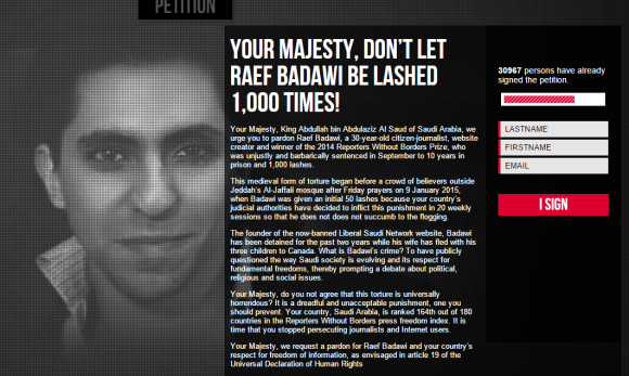 The Blogger Who Will Receive 1000 Lashes Due To His Writings