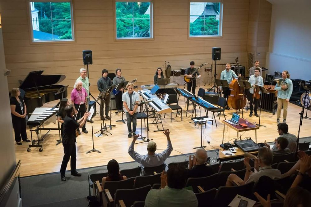 "Performing Rzewski's ""Coming Together"" at The Walden School"