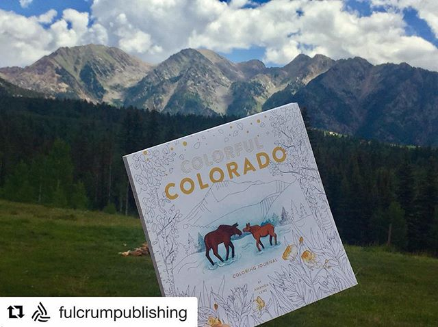 #Repost @fulcrumpublishing with @get_repost ・・・ Exploring the land and colors that inspire Colorful Colorado 😍 . . . . #colorfulcoloradojournal #sanjuanmountains #mountains #colorfulcolorado #colorado #colorful #adventure #coloringbook #coloring #illustration #artwork #colors #adultcoloring #instagood #artoftheday #creative #creativelife #art # instaart #journal #doodle #sketch