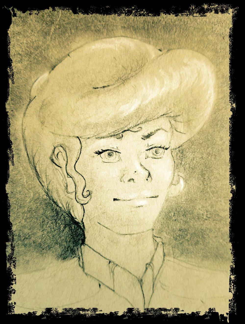 Rose Worthington portrait done by  Stylus