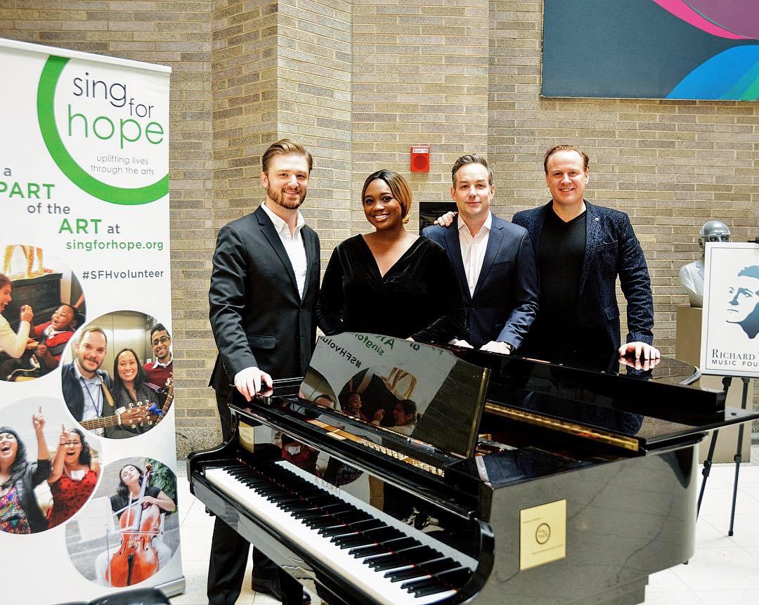 Concert at Mt  Sinai Hospital — Brent Funderburk | Pianist