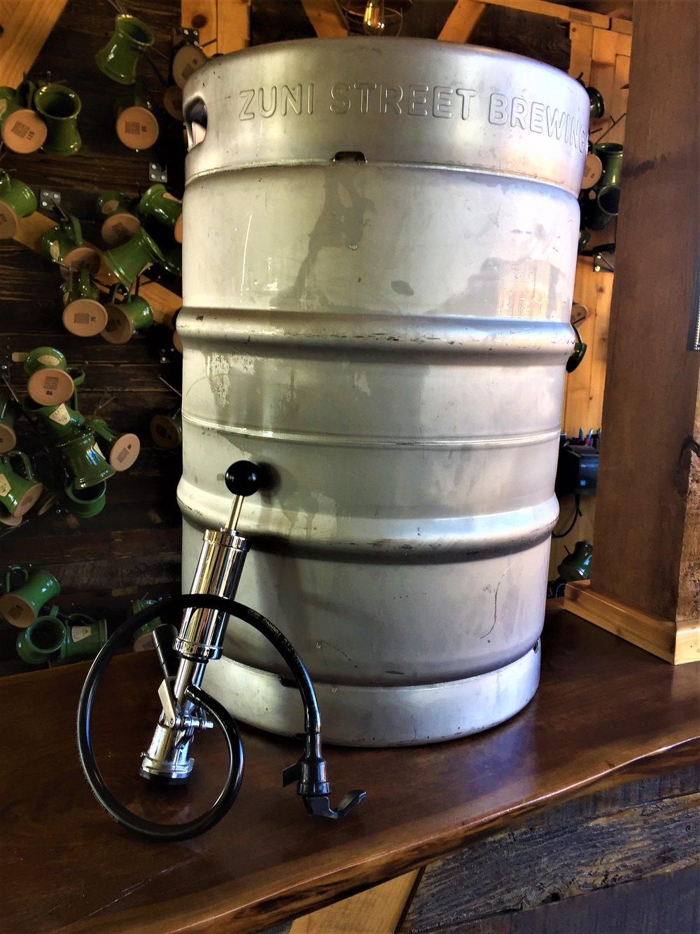 If you choose to keg your brew, we charge an $80 deposit which includes the use of one of our kegs as well as a party tap to dispense your beer with. Don't worry, we'll make sure to give you the full $80 back when you return our keg and tap.