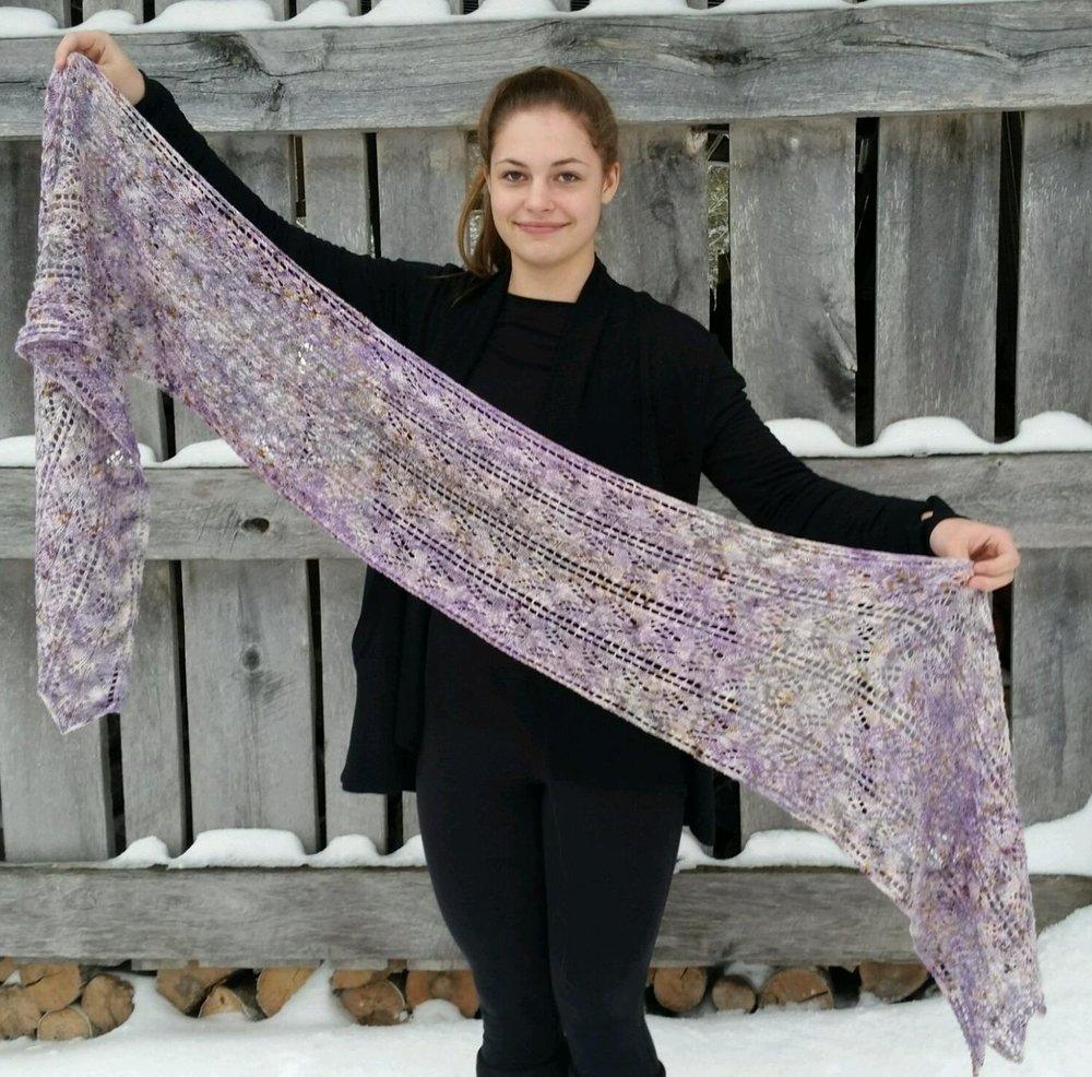 Lilac Wrap