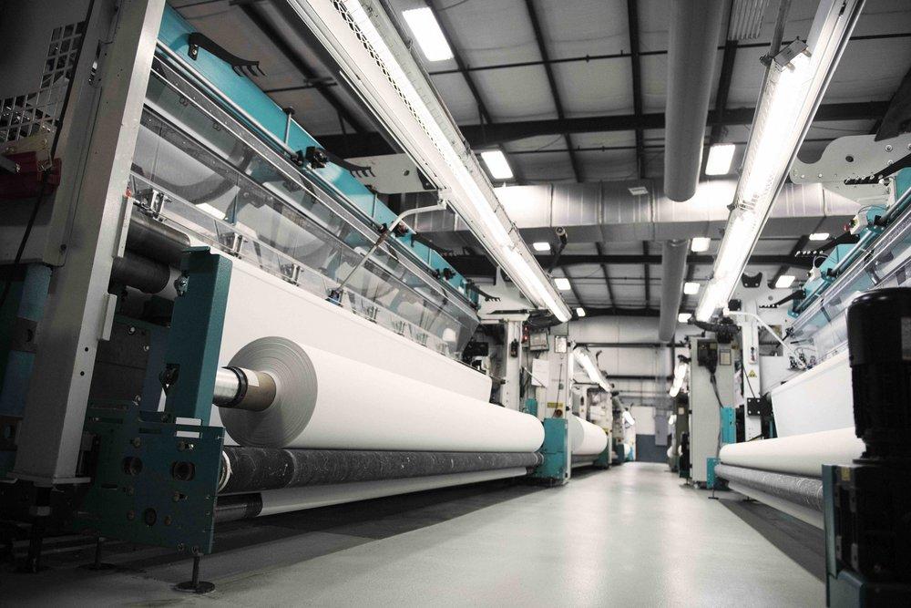 Fairystone Fabrics factory equipment