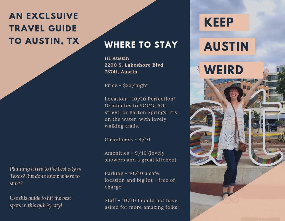 Austin, TX Travel Guide