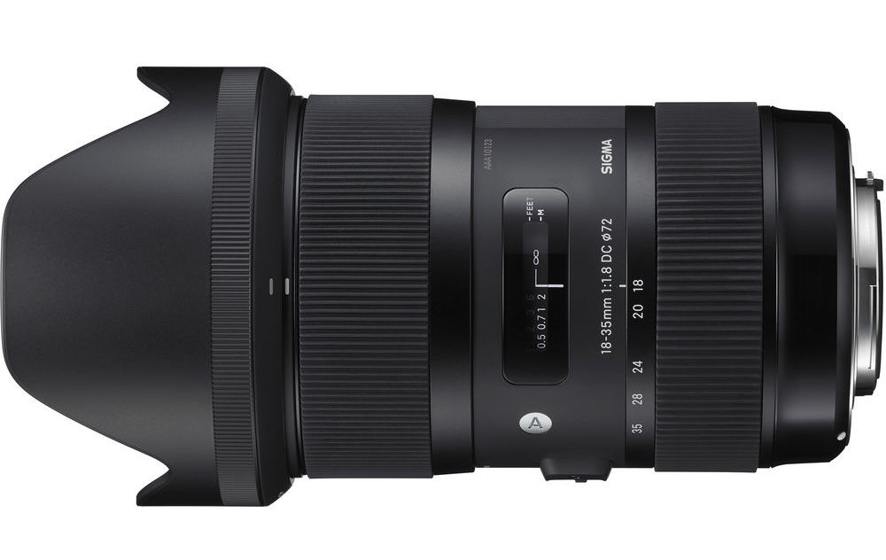 Sigma 18-35mm - Amazon: http://a.co/dsmeAQ1DXO Review: http://bit.ly/2FF0Lrm