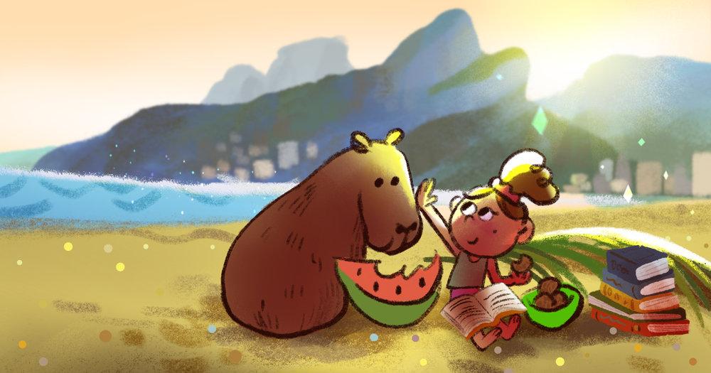Brazil by TA-DA! team artist Kelsey Suan