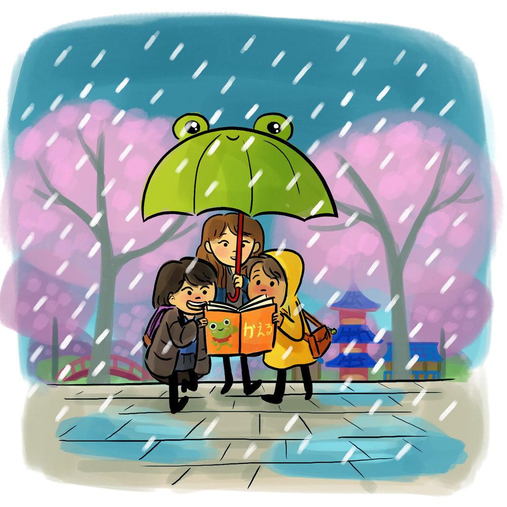 Japan by TA-DA! team artist Michelle Hiraishi