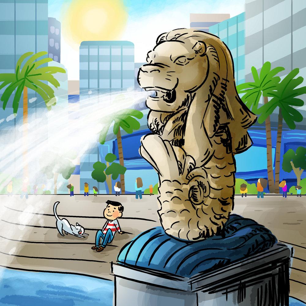 Singapore by TA-DA! team artist Michelle Hiraishi