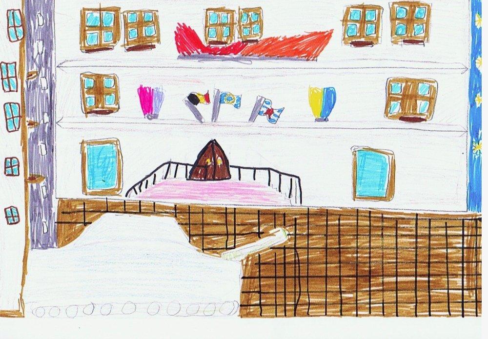 Arlon, Belgium by Raphaël, age 9