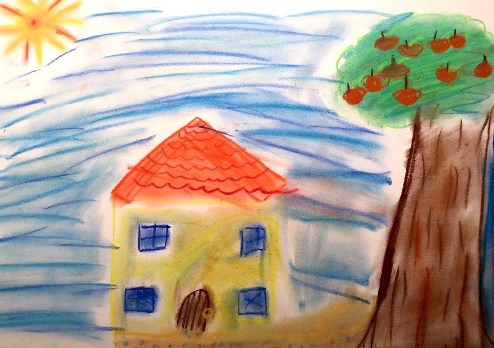 Stuttgart, Germany by Juliette, age 9