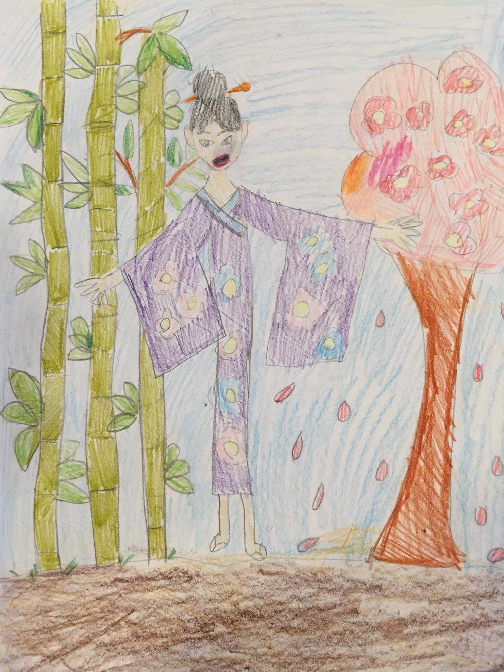 Japan by Yuna, age 9