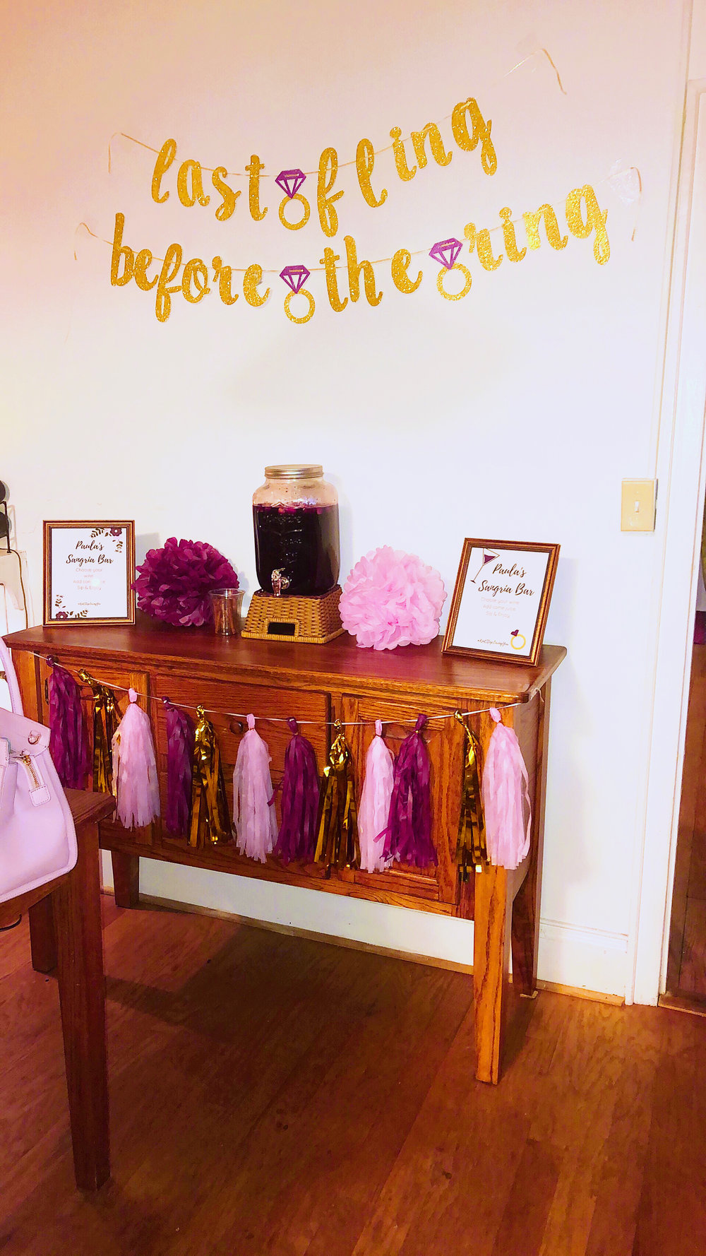 well with brielle wellwithbrielle.com bachelorette party last fling before the ring bridal party wedding event