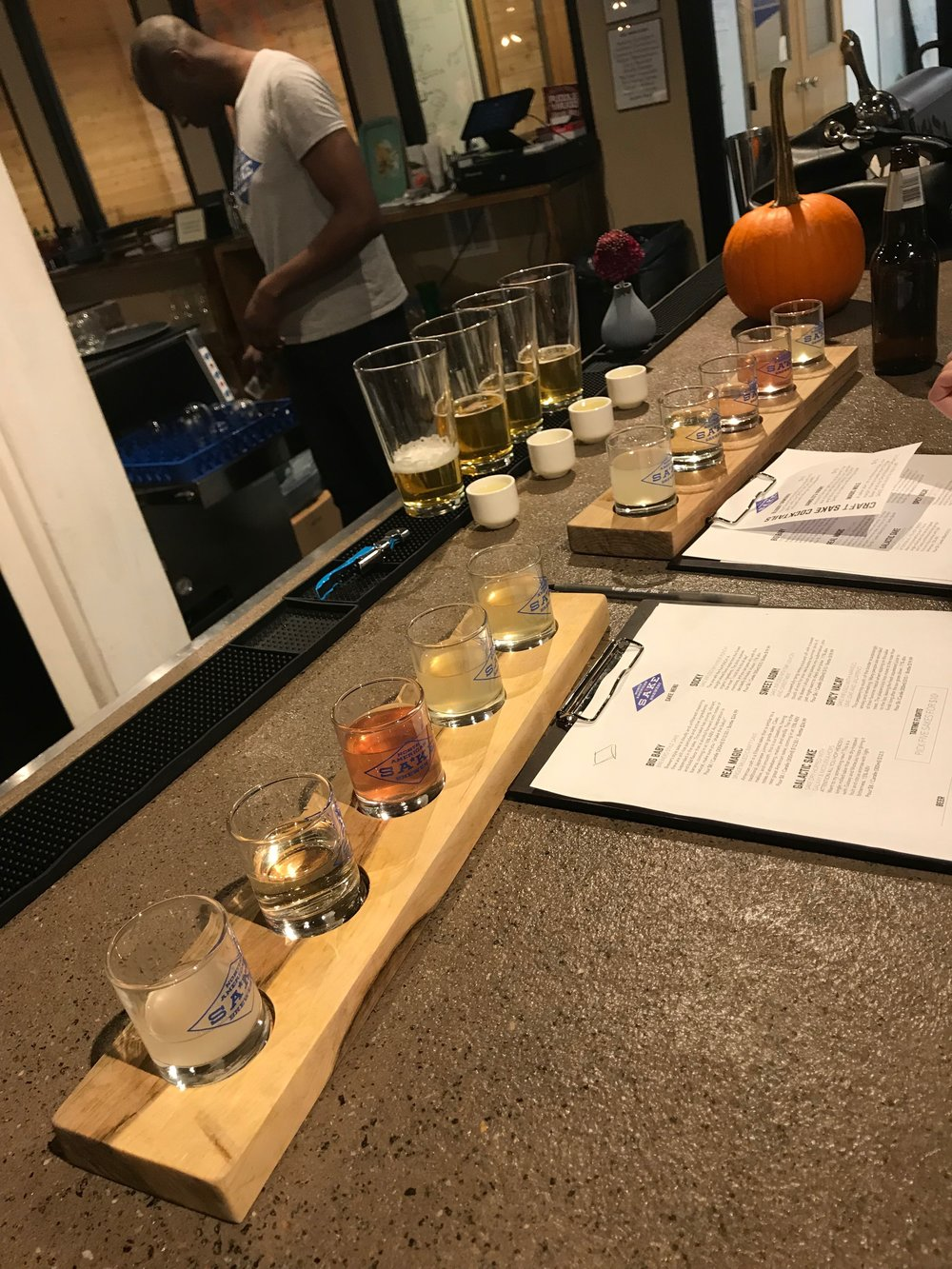 Sake Tasting for the I Do Crew!