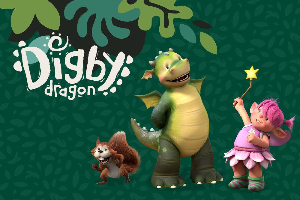 Nick Jr.  Digby Dragon