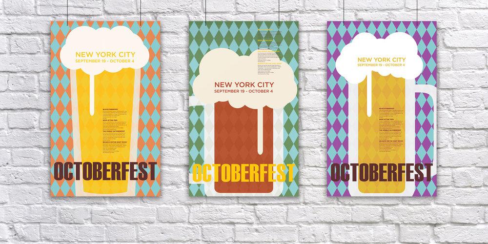 Oktoberfest  Poster Series