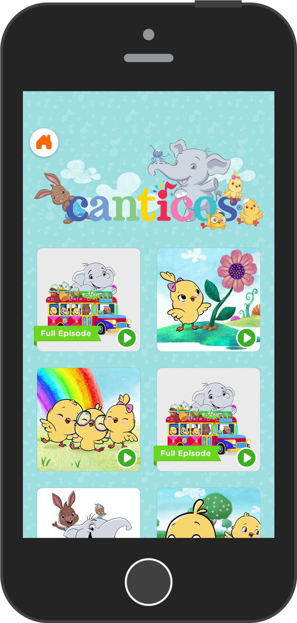 Nick Jr.  Canticos Property Space