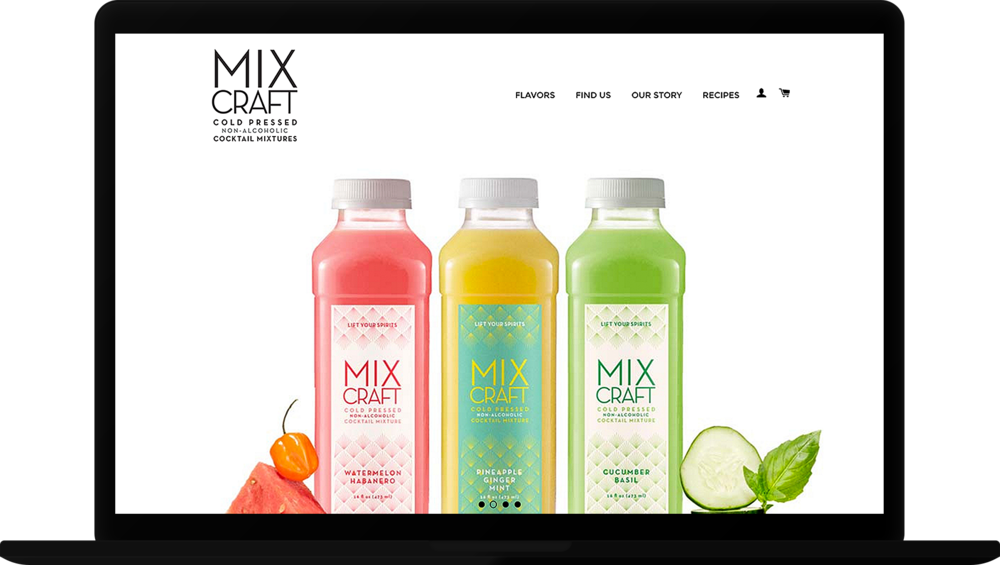 MixCraft  Website Design
