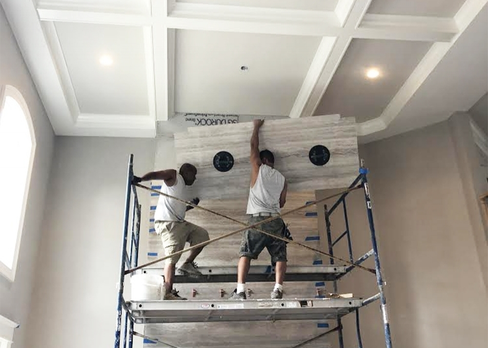 installation - Our team is fully licensed and insured and has extensive installation experience. We strive to provide our customers with a quick and seamless installation that not only meets their expectations, but exceeds them.