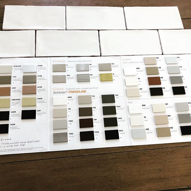 Just picked up these beautiful handcrafted tiles for my wonderful customer!! Thanks to Jay Sabia for being so efficient and on top of getting this order for me @romatilecompany #thewinchestertilecompany