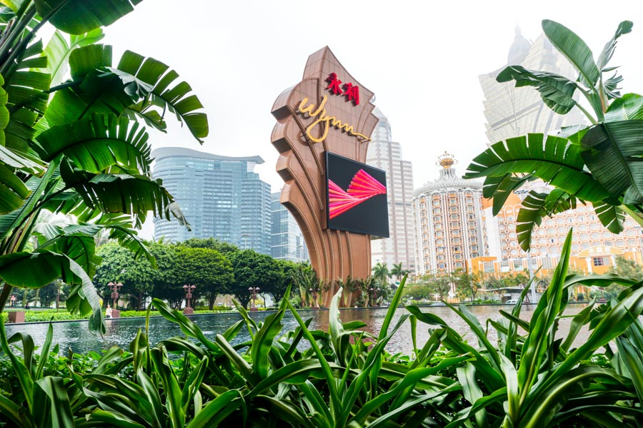Wynn hotel and casino Macau