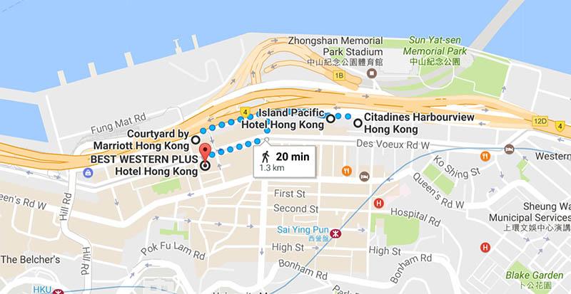 Sai Ying Pun Hong Kong hotels