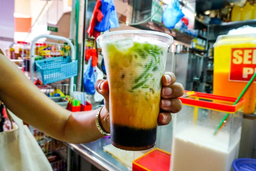 Singapore Cendol chendol Little India