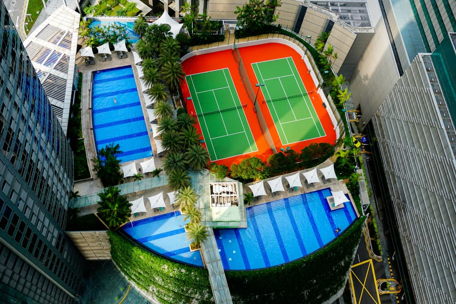 Singapore swimming pool