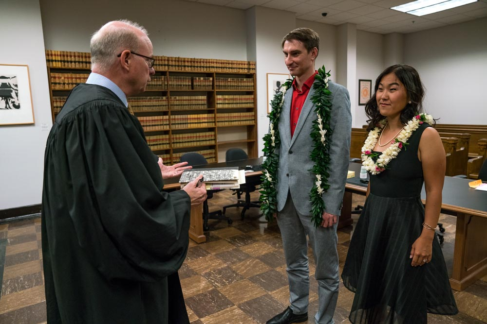 Seattle courthouse wedding photos