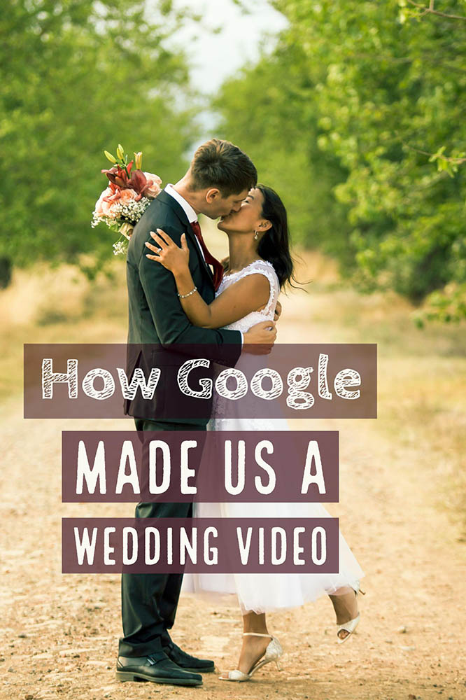 Google wedding video