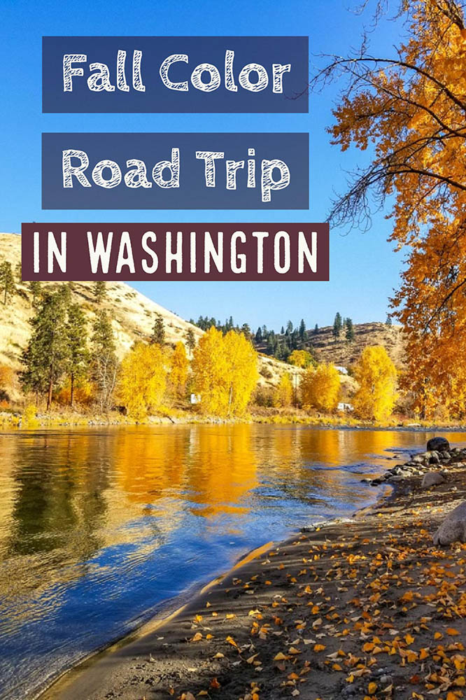 Washington Fall Colors Road Trip from Seattle