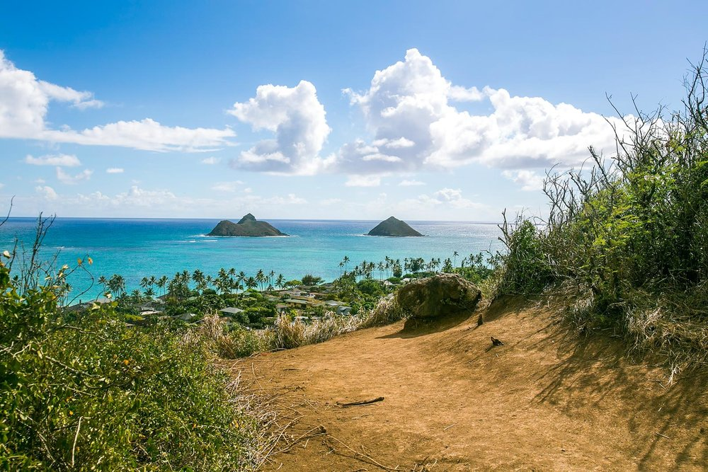 Lanikai Pillbox Oahu Hiking Trail
