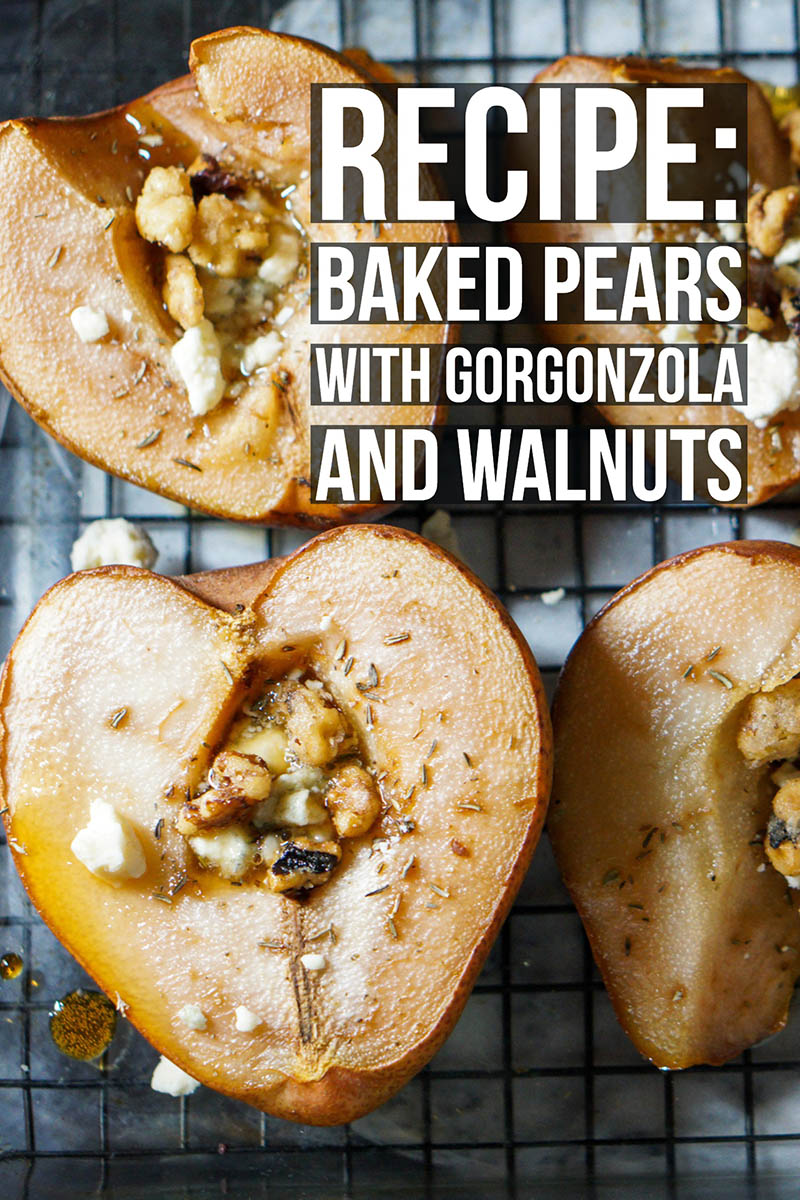 Holiday pears baked recipe