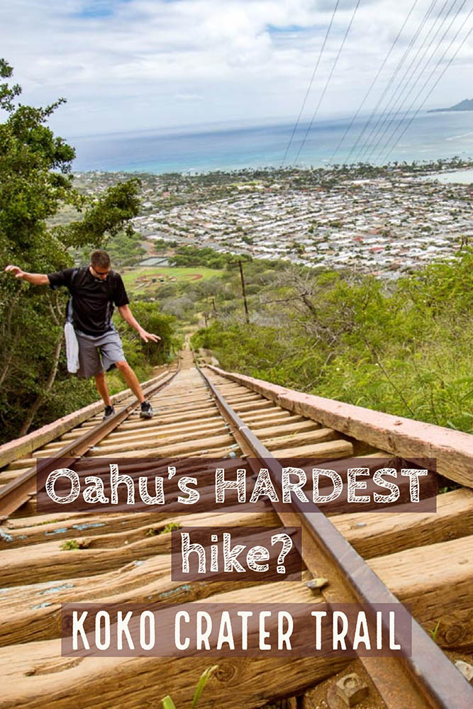 Koko K Dupe: Hawaii's Hardest Hike? Koko Crater Trail