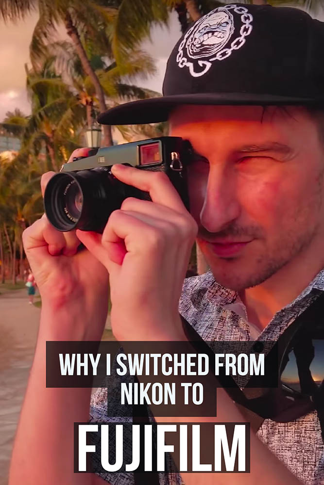 Why I switched to Fujifilm