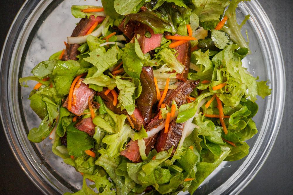 Recipe 1: Flank Steak Salad