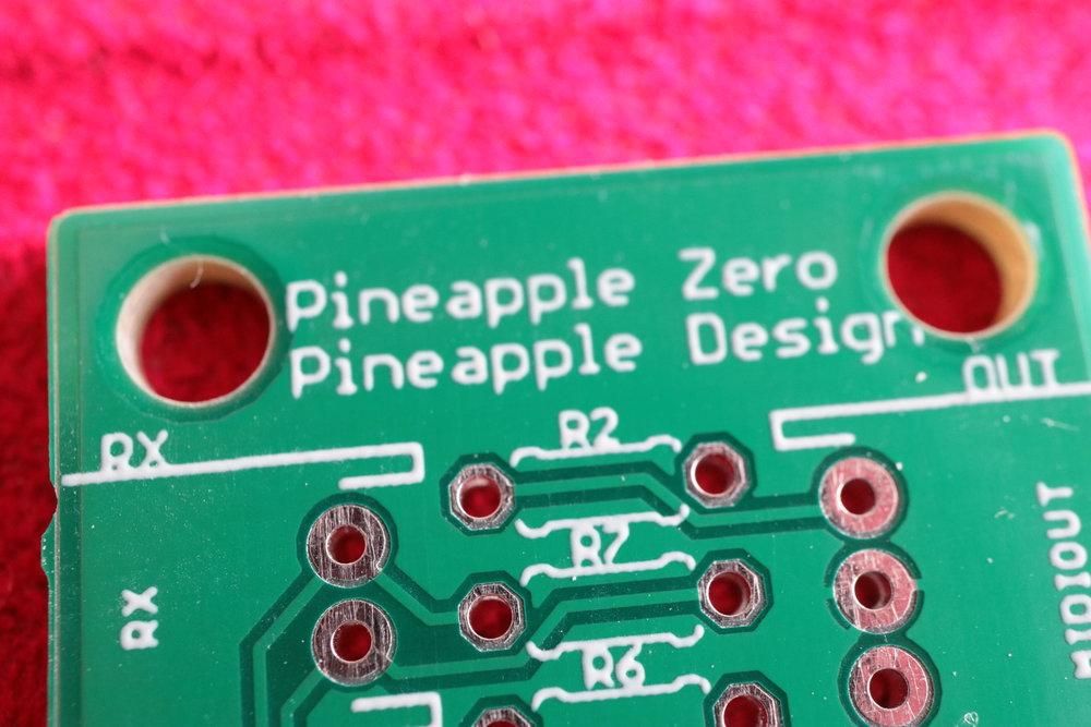 Logic board of Pineapple Zero 1.0.0-RELEASE.