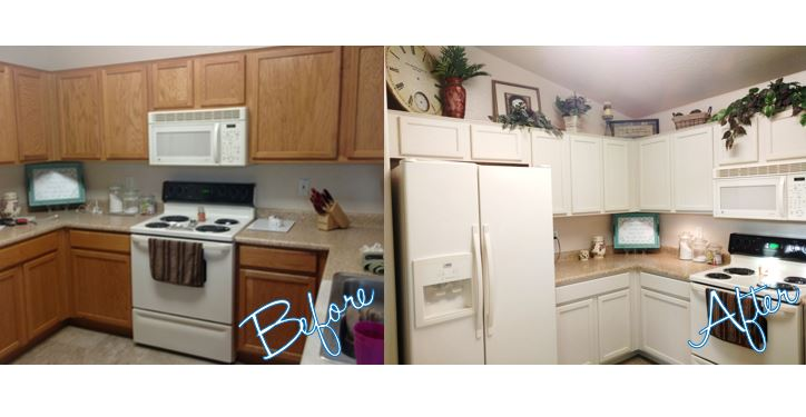 2/21 Kitchen Cabinet Makeover with Dixie Belle Paint Company ...