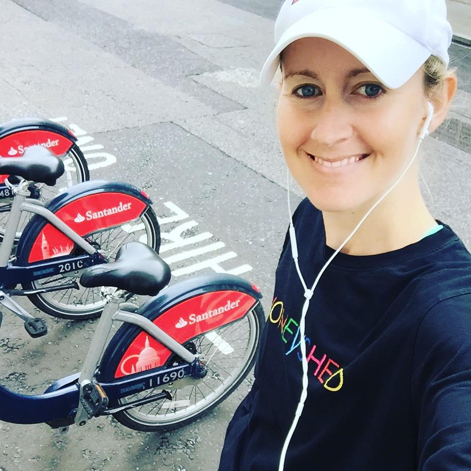 Boris Bike's in London