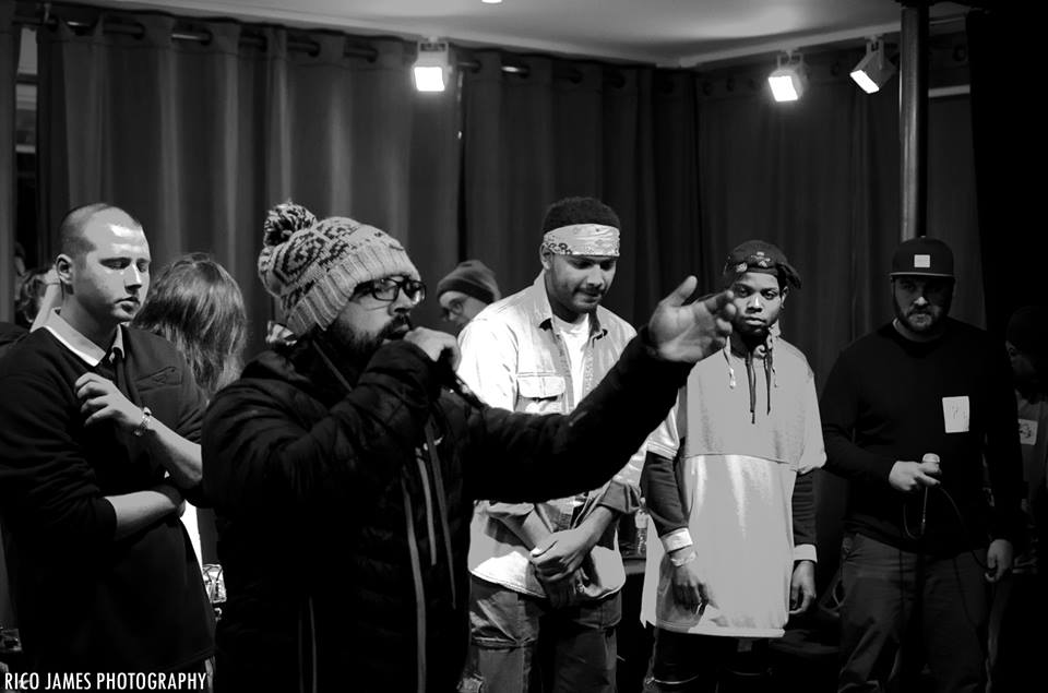 Photo: Building Blocks 2 Cypher courtesy of Rico James