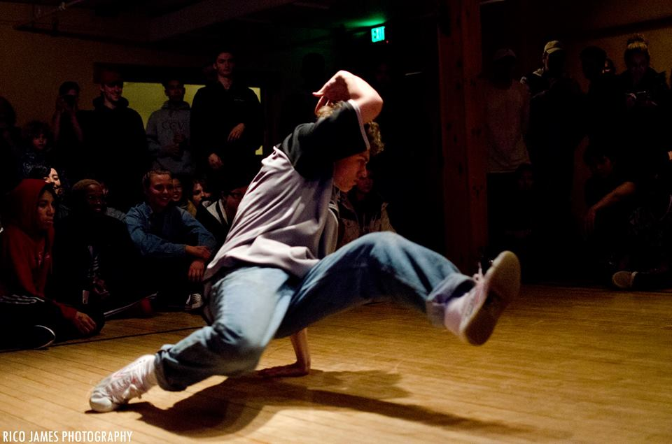 Photo: Micah Wagner aka  Bboy Zui  courtesy of   Rico James