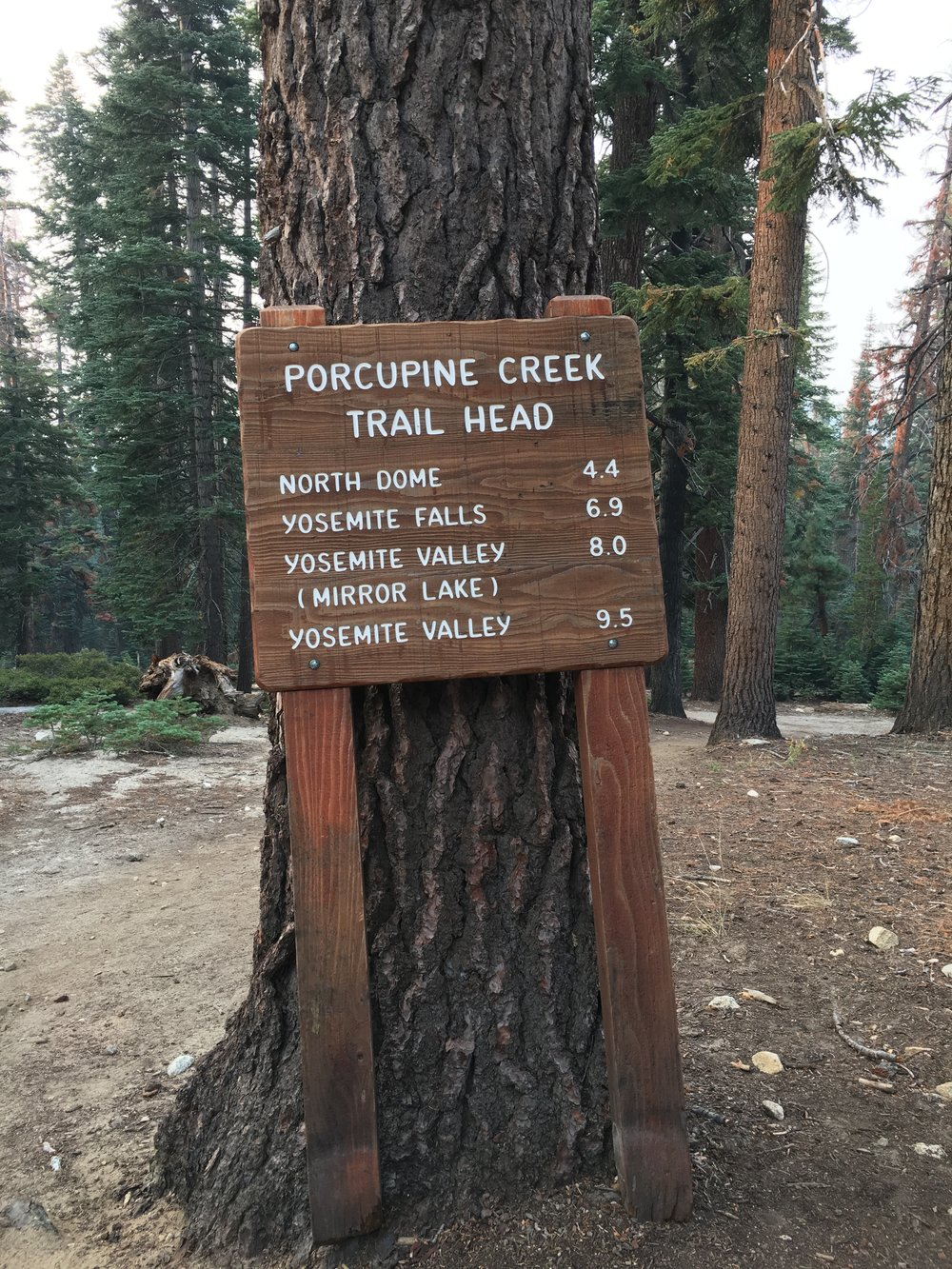 Porcupine Creek Trail Head