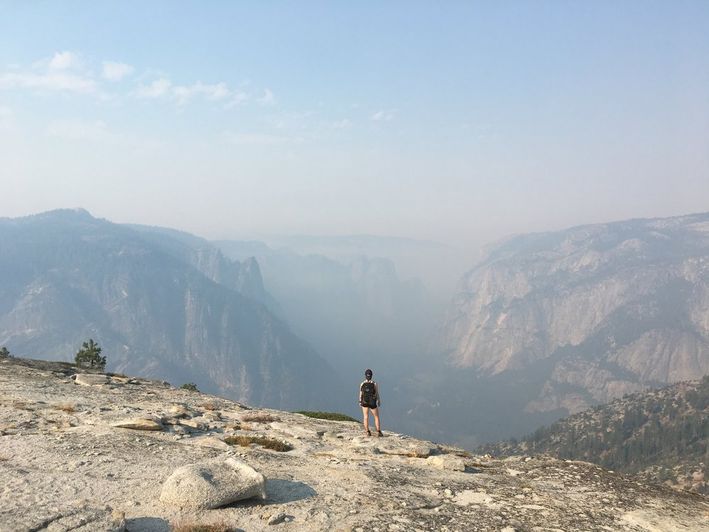 Yosemite Valley from North Dome.