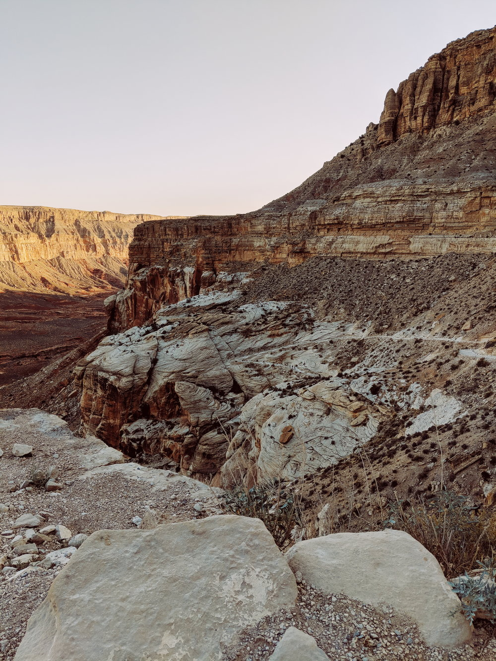 Can you spot the switchbacks on the opposing canyon wall?