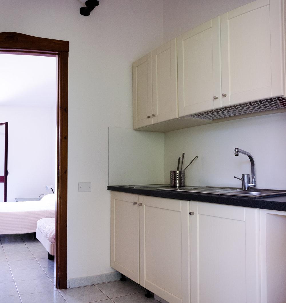 Cucina Monolocale King + poltrona letto
