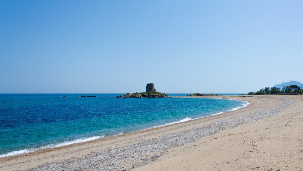 Spiaggia di torre di barì -