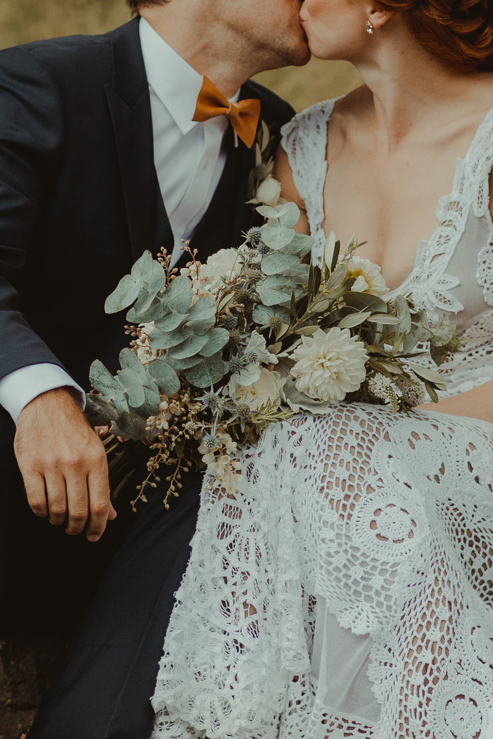 Poppys Getting Married - Florist Beginning in her families backyard gardens, Marnie the Melbourne local has an eye for sustainability and an evident attention to detail. She'll even make your wedding cake stand out.